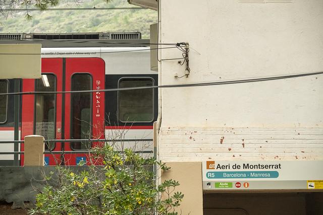R5 Train - Monistrol de Montserrat, Catalonia, Spain