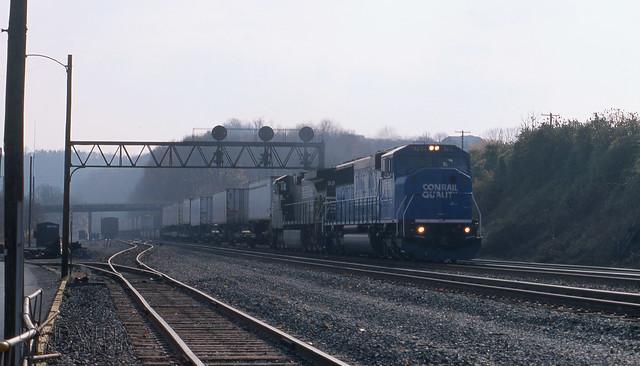 Westbound Truc Train At Mifflin