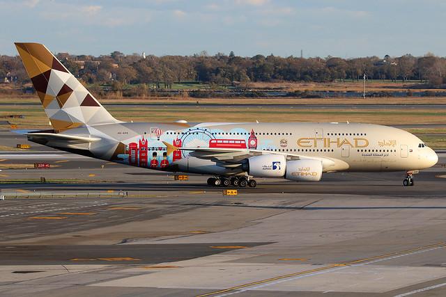 A6-APE | Airbus A380-861 | Etihad Airways (special