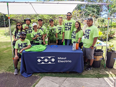 Maui Electric at the 2019 Arbor Day Expo and Tree Giveaway — Nov. 2, 2019: Mahalo to our employee volunteers for supporting Arbor Day!
