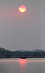 Cubango River Sun