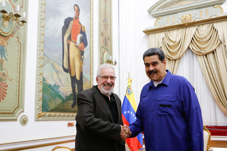 Presidente Maduro intercambia ideas con intelectual argentino Atilio Borón