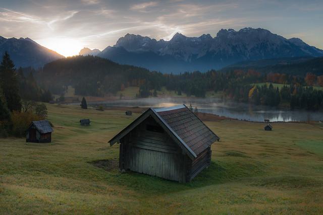 Bavaria in the morning