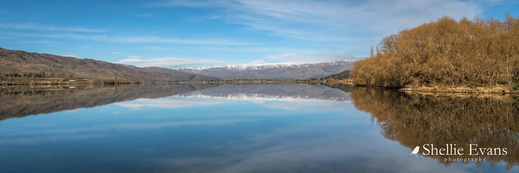 reflections- Lowburn, Lake Dunstan