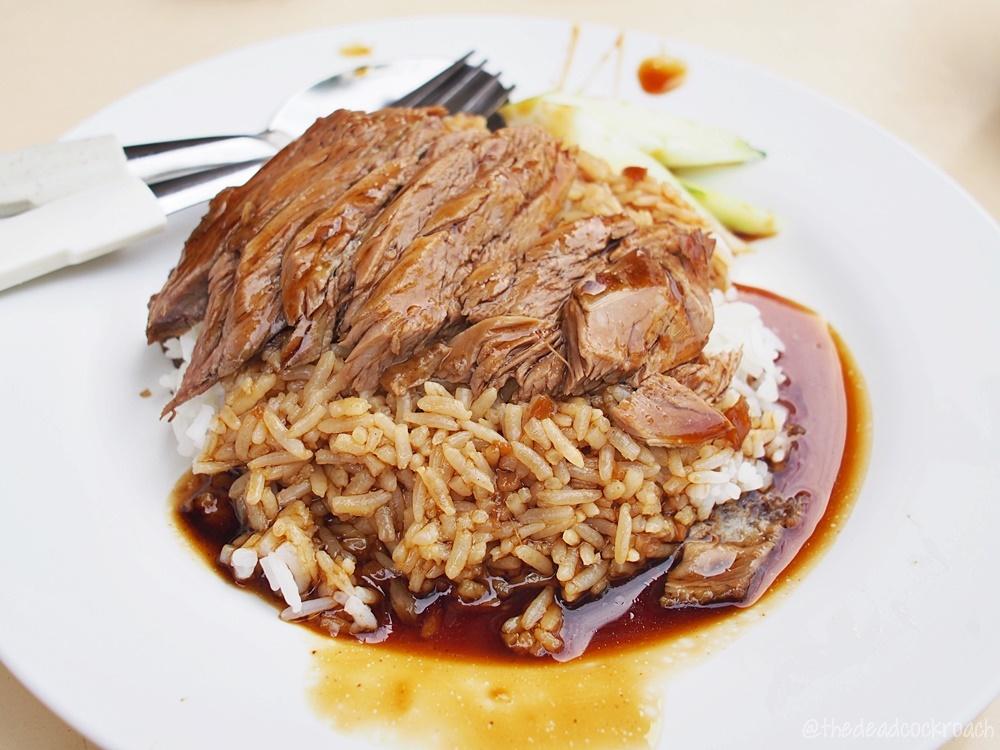 99灣馳名潮州起骨鹵鴨飯, braised duck, duck rice, food, food review, review, singapore, south buona vista road famous teochew boneless duck rice, lim seng lee,林成利鸭饭