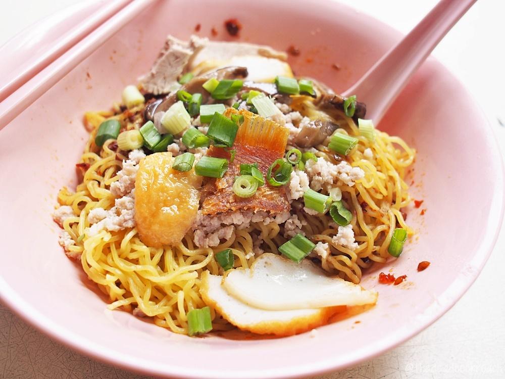 ah hor teochew kway teow mee, food, food review, mee pok, mee kia,review, sam leong road, singapore, 亚河潮州粿条面, bak chor mee,fish ball noodle