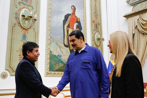 Presidente Maduro sostiene encuentro con el Secretario Ejecutivo del ALBA-TCP
