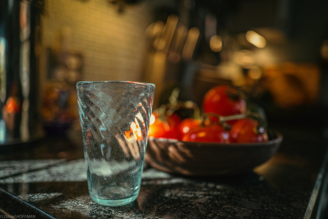 Still Life with locally handcrafted water tumbler.