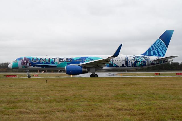 N14102 Boeing B757-224 EGPH 07-11-19