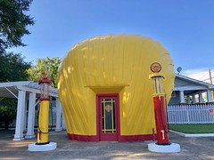 Shell-Shaped Shell Service Station, Waughtown, Winston-Salem, NC by w_lemay
