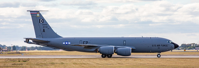 USAFE Boeing KC-135 Stratotanker 100th Air Refuelling Wing (Bloody 100th).