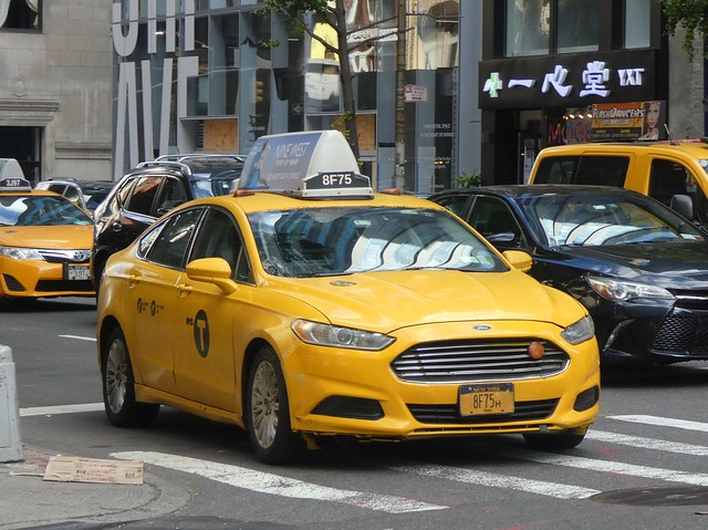 NYC Taxi - Ford Fusion Hybrid