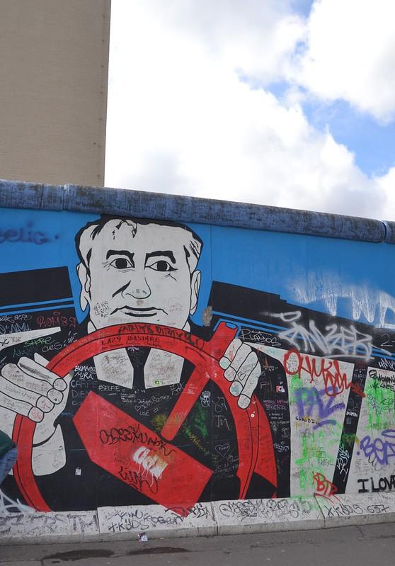 ancien mur de Berlin