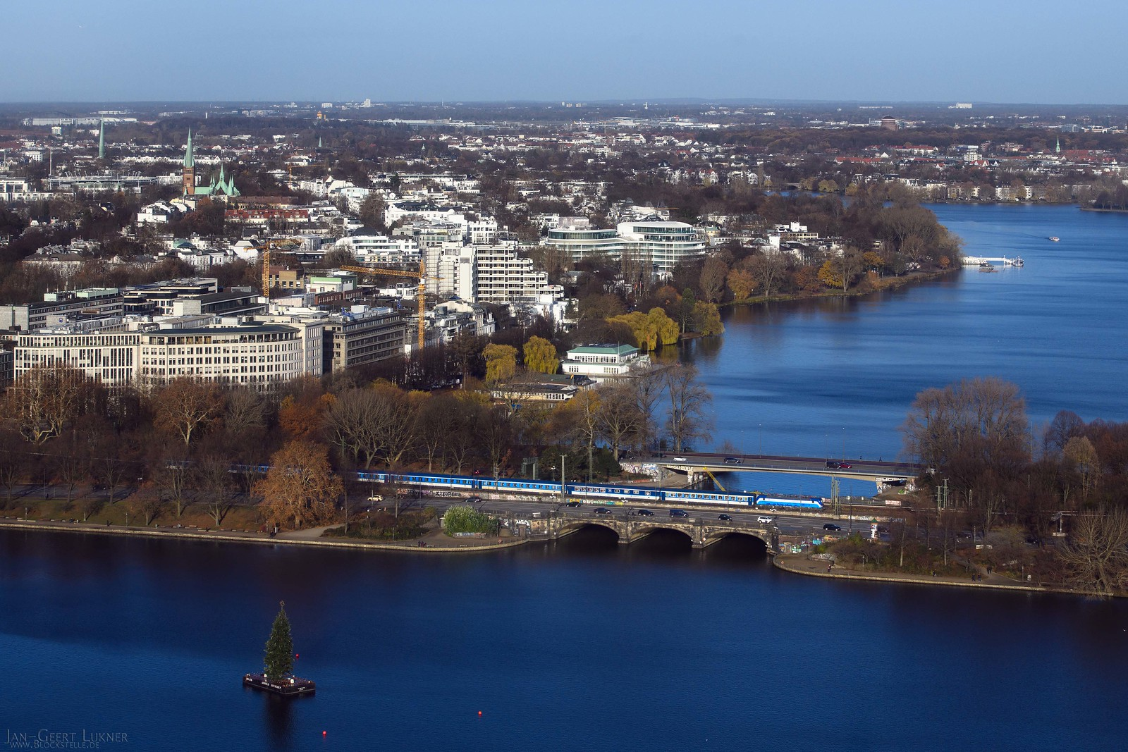 DE - Hamburg - View from St Petri tower