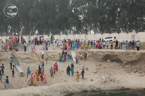 A view of Selfless Service at Samagam Grounds