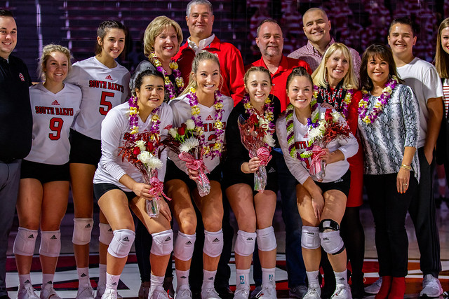 Volleyball Senior Night vs. NDSU 11-8-19