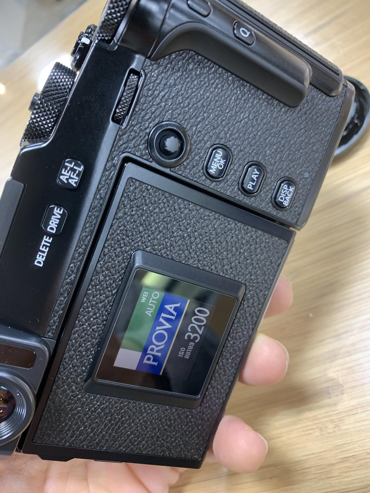 Fujifilm X-Pro3 sample test