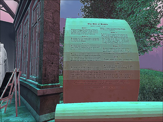 Second Life Veterans Tribute 2019 -Remember When These Were Self Evident?