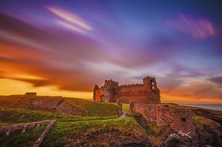 Tantallon Castle Sunset