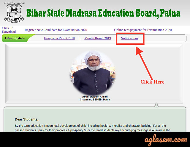 BSMEB Wastania Exam Date 2020 (Revised) | Bihar Madarsa Wastania Time Table 2020