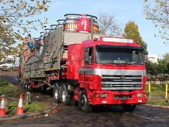 quicksilver coaches posted a photo:	P864 PVM1996 Foden 4500Charles Deakin, SuperbowlCampbell Park, Milton Keynes, 4 November 2019