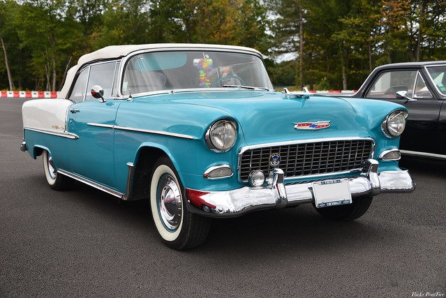1955 Chevrolet Bel Air cabriolet