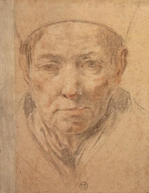Tête de religieux (17ème siècle)
