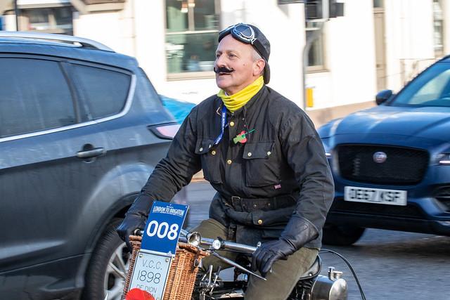London to Brighton Veteran Car Run 2019 - 1898 De Dion Bouton Tricycle (C 376)