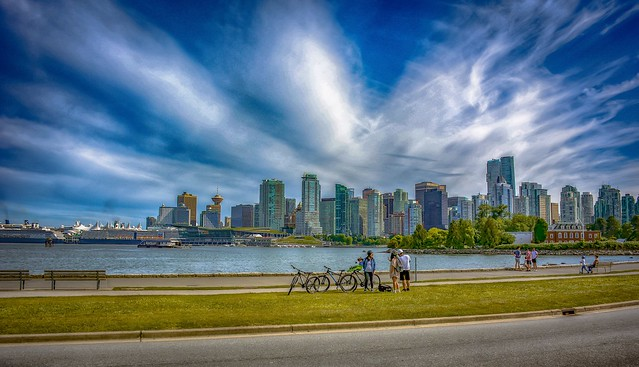 Vancouver City  HDR