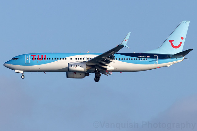PH-TFC TUI Airlines Netherlands B737-800 Arrecife Airport