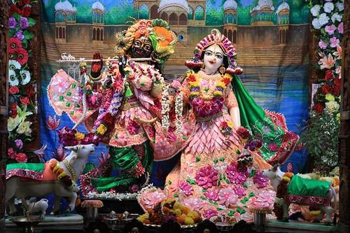 ISKCON Nigdi Deity Darshan 09 Nov 2019