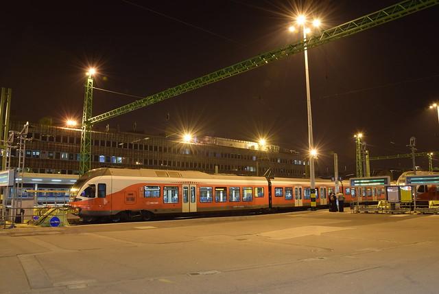 Stadler Flirt in station Budapest - Déli