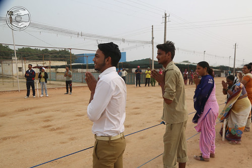 HH taking round in the Samagam Ground