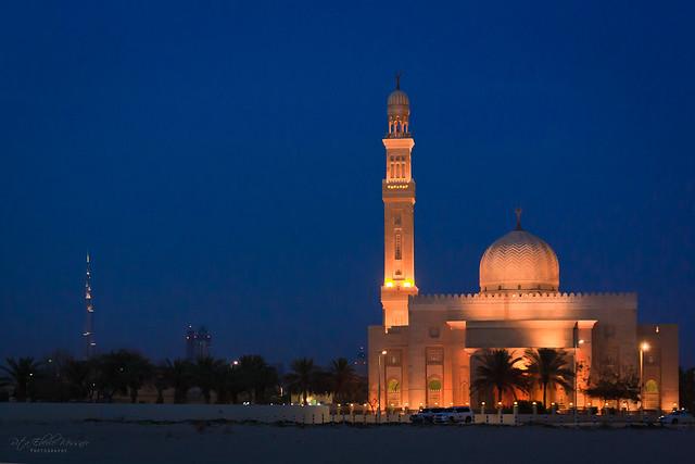 Al Manara Mosque at Jumreirah Beach, Dubai