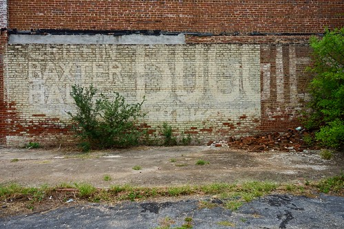 sony alpha a7ii monroe georgia ga brick wall sign ghostsign
