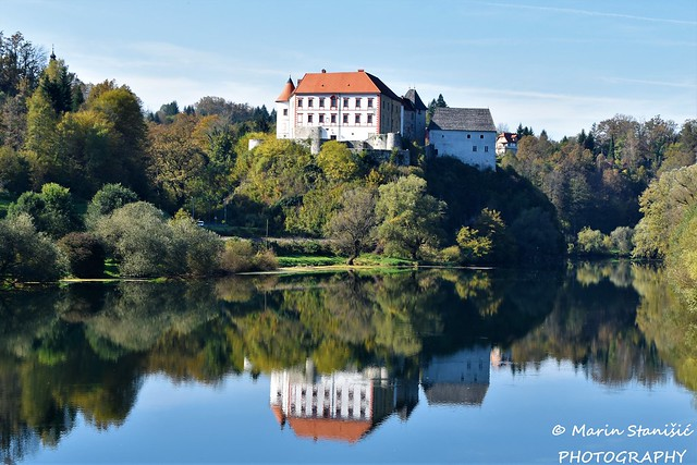 Ozalj, Croatia - Castle Ozalj over the river Kupa