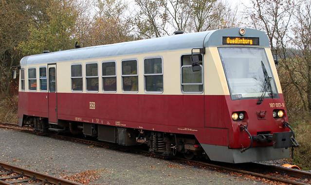 Modern HSB railcar