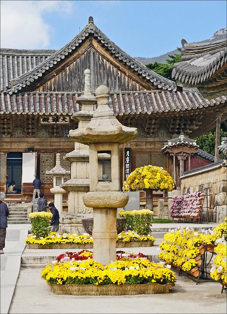 Le Daeungjeon du temple Tongdo-sa (Corée du sud)