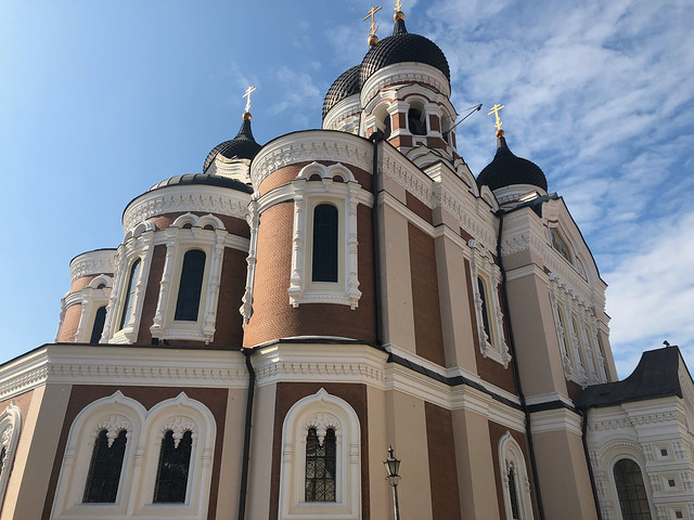 Toompea Hill - Alexander Nevsky Cathedral