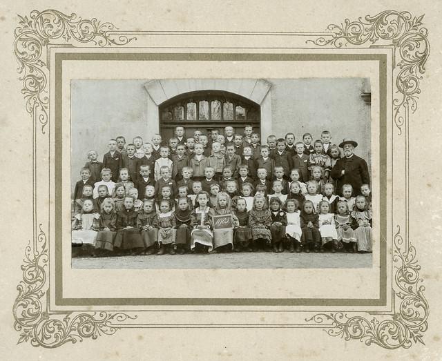 Archiv U370 Schulklasse, 1905