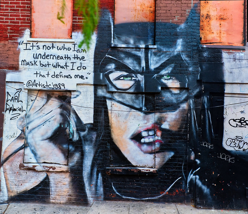 Walk In New York - Street Art - Batman - Quartier de Williamburg