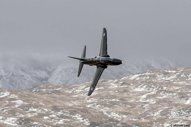 Unidentified RAF British Aerospace Hawk T1A; 208 (R) Squadron, RAF Valley, Anglesey