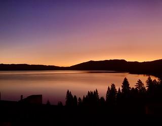 Purple Haze, Sunrise on Lake Tahoe
