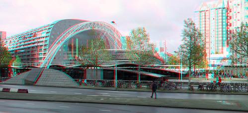 Station Blaak Rotterdam 3D