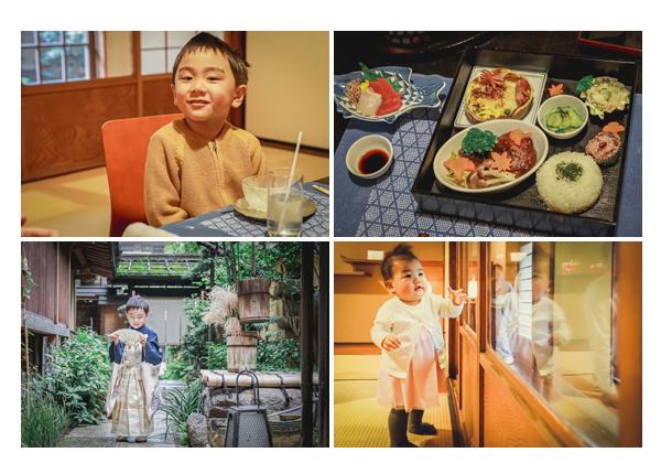 七五三参りの後はお食事会(ランチ) 料亭・日本料理店 名古屋市