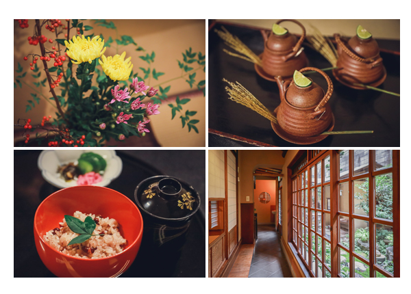 大和屋(料亭・日本料理店) 名古屋市中区 松茸の土瓶蒸し 赤飯