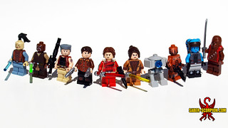 LEGO Star Wars Knights of the Old Republic Minifigs | by Saber-Scorpion