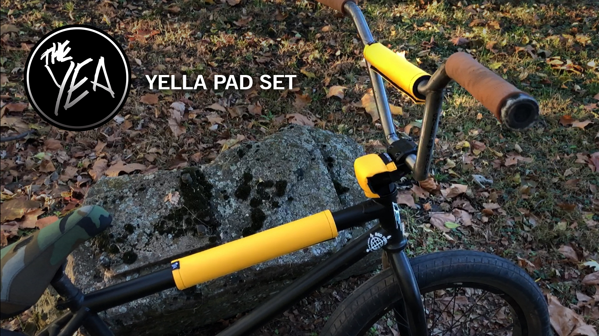 Yella BMX Pad Sets