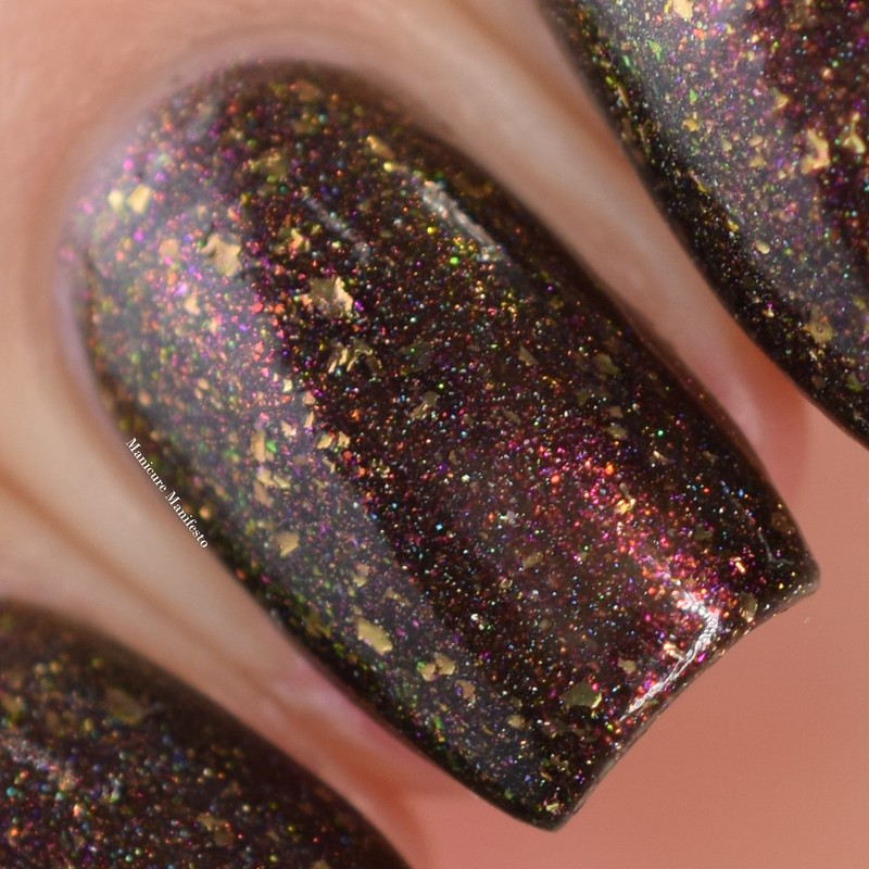 Girly Bits Let's Get Basted swatch