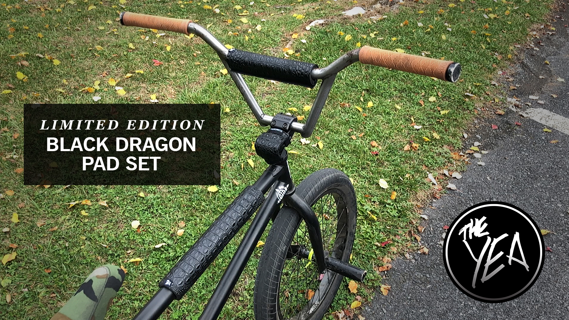 Black Dragon BMX Pad Sets